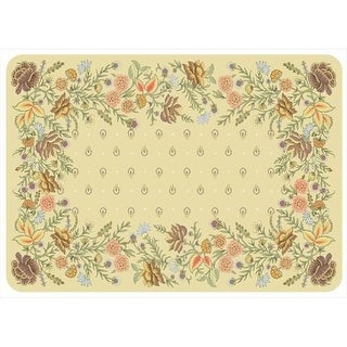 204911382231 Palazzo Mat in Sand - 1.83 ft. x 2.58 ft.