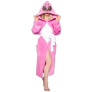 Power Rangers Adult Fleece Bathrobe & Swim Suit Cover Up