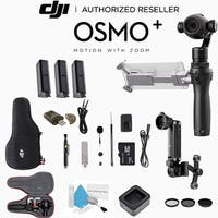 DJI Osmo Plus Handheld Gimbal with 4K Zoom Camera CP.ZM.000425 3 Battery Bundle