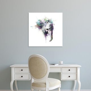 Easy Art Prints VeeBee's 'Elephant' Premium Canvas Art