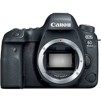 Canon EOS 6D Mark II DSLR Camera (Body Only) (Intl Model)