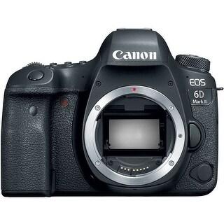 Canon EOS 6D Mark II DSLR Camera (Body Only) (Intl Model)