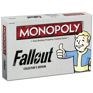 Fallout Monopoly Collector's Edition Board Game