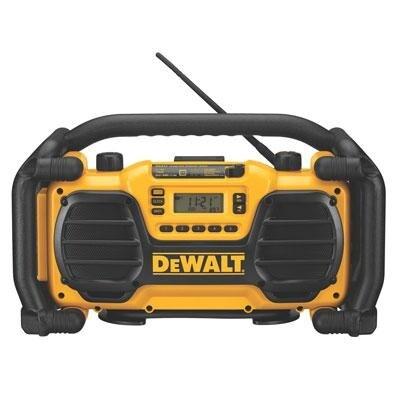 Dewalt Dc012 7.2 - 18V Cordless Worksite Radio With Built-In Charger