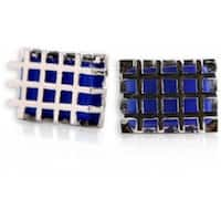 Caged Blue Cufflinks