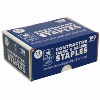 "Easy Gardener® 8041 Commercial Fabric & Garden Staples, 11-Gauge, 4.5"", 100-Pack"