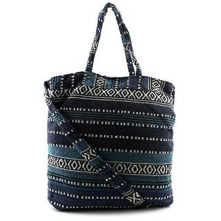 Twig & Arrow LuLu Tapestry Bucket Cross Body Bag Women Blue Messenger