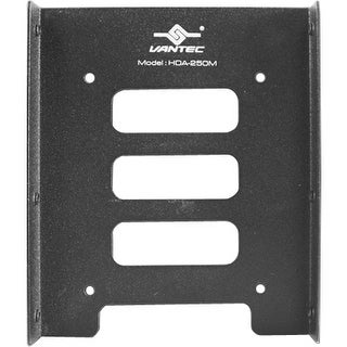 Vantec HDA-250M Vantec HDA-250M Drive Bay Adapter Internal - 1 x Total Bay - 1 x 2.5 Inch Bay