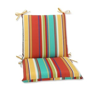 """36.5"""" Westport Spring Squared Corners Stripped Chair Cushion"""
