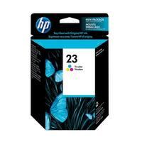 HP 23 Tri-color Original Ink Cartridge (C1823D) (Single Pack)