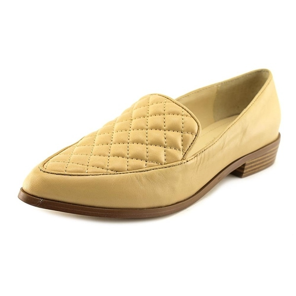BCBGeneration Maxxy Round Toe Leather Loafer