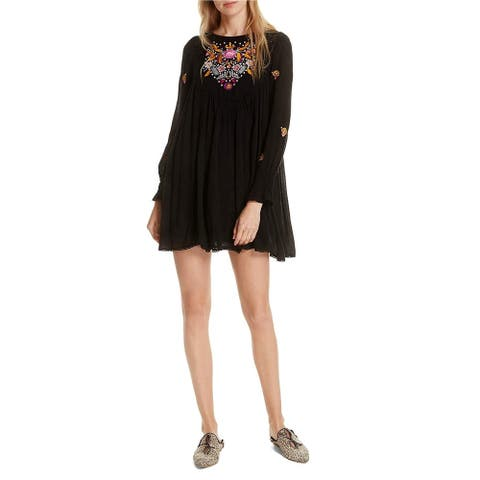 Free People Womens Mohave A-Line Dress