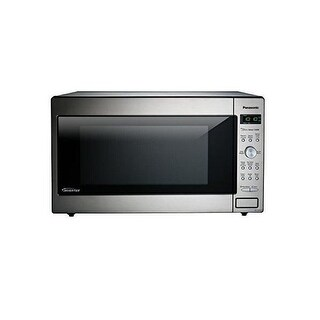 Panasonic NN-SD945S 2.2 Cu. Ft. 1250W Genius Sensor Countertop/Built-In Microwave Oven with Inverter - Stainless Steel
