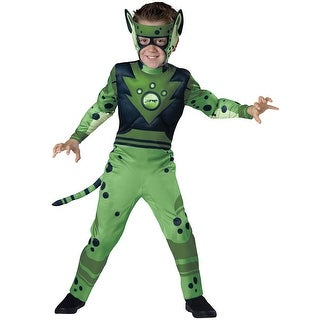 Boys Wild Kratts Green Cheetah Costume (3 options available)