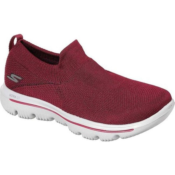 d2afe71e65e4 Skechers Women  x27 s GOwalk Evolution Ultra Slip-On Walking Shoe Raspberry