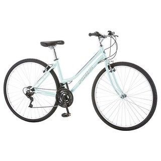 Pacific Bicycles 264017PB 700C Womens Trellis Hybrid Bicycle, Blue