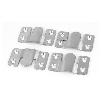 Attrayant 53mm X 30mm Stainless Steel Photo Frame Sofa Sectional Connector Bracket  4pcs