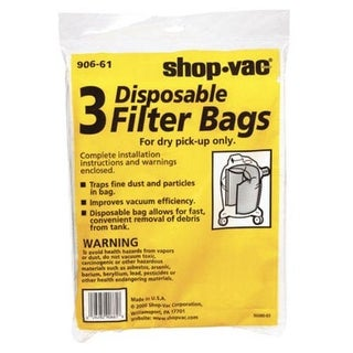 Shop-Vac 9066101 Disposable Collection Bag