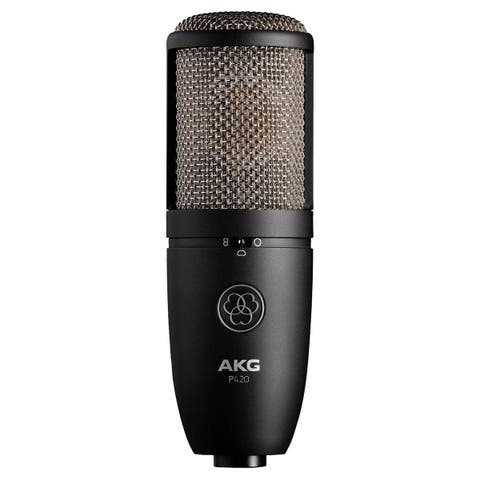 AKG Pro Audio P420 Sliver Blue 9.80 x 5.50 x 9.00 inches