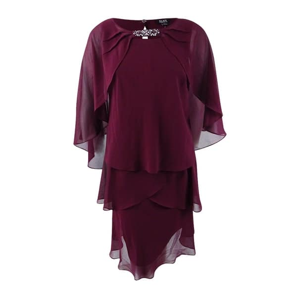 Shop SL Fashions Women\'s Plus Size Tiered Dress and ...