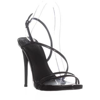 a274b367b77555 GUESS Tilda Buckle Ankle Strap Sandals