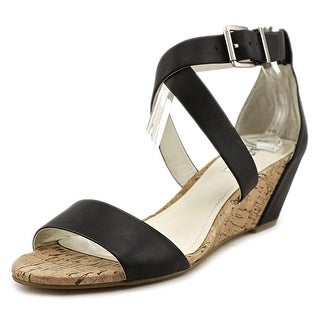 BCBGeneration Valisa Open Toe Leather Sandals