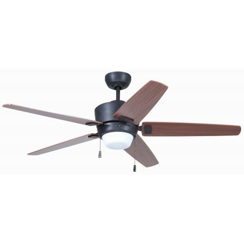 "Craftmade ATA525 Atara 52"" 5 Blade Indoor Ceiling Fan - Blades and Light Kit Included"