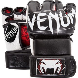 Venum Undisputed 2.0 Nappa Leather MMA Gloves - Black