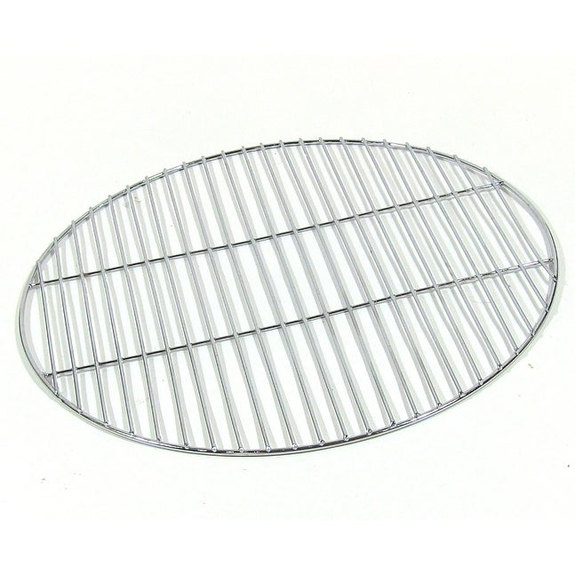 Sunnydaze Chrome Plated Cooking Grate - Size Options May Be Available - Silver - Thumbnail 1