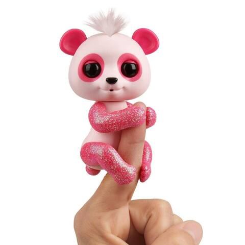 Baby Panda Interactive Fingerling Pet Toy - Polly - Multi