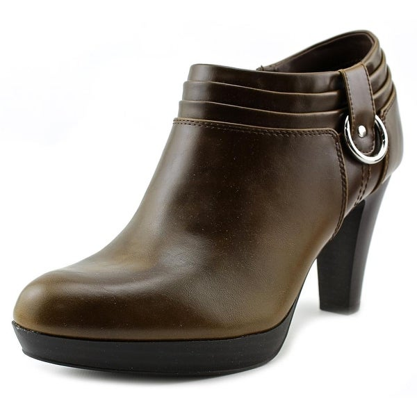 American Living Genevie Round Toe Synthetic Bootie
