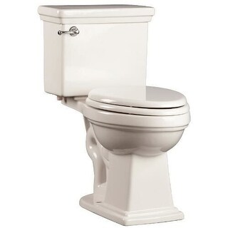 "Mirabelle MIRKW200A Key West 1.28 GPF Toilet Tank Only with 12"" Rough In - Left Hand Trip Lever"