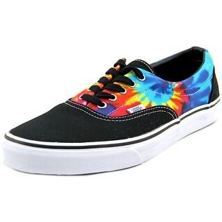 Vans U Era Men Round Toe Canvas Black Sneakers