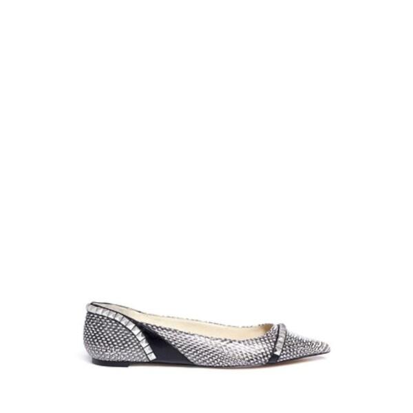 265ddbc4e970a Shop Michael Michael Kors Womens Ella Flat Leather Pointed Toe Slide ...