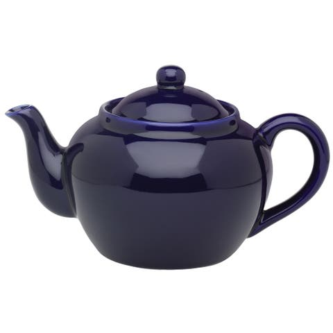 Harold Import 71/374-3C Teapot With Stainless Steel Infuser, Cobalt