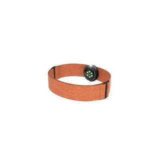 Polar OH1 Orange Optical Heart Rate Sensor with Built-In Memory & Comfortable Textile Armband