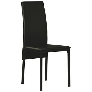 Ashley Furniture Faux Leather Upholstery Dining Room Side Chair (6 Pack)