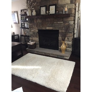 Safavieh California Cozy Plush Milky White Shag Rug