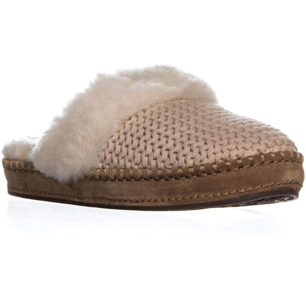 95608a66272 Shop UGG Aira Slip On Flat Slippers, Cream - Free Shipping Today ...