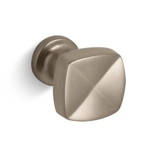 """Kohler K-16262 Margaux 1-1/4"""" Square Cabinet Knob"""