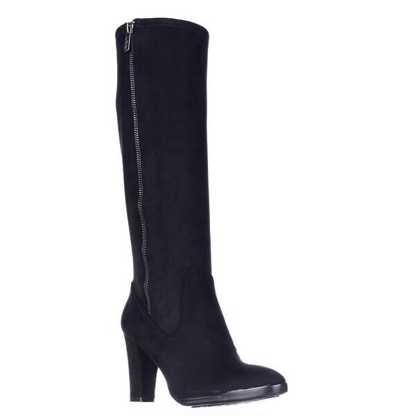 AK Anne Klein Sport Elek Tall Stretch Boots, Black