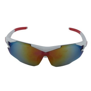 ROBESBON Authorized Unisex Bike Polarized Sport Goggles Lens Cycling Glasses Red