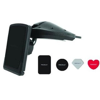 Macally - Mcdmag - Magnetic Cd Slot Phone Mount