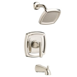American Standard T018.508  Edgemere Tub and Shower Trim Package with 1.8 GPM Single Function Shower Head