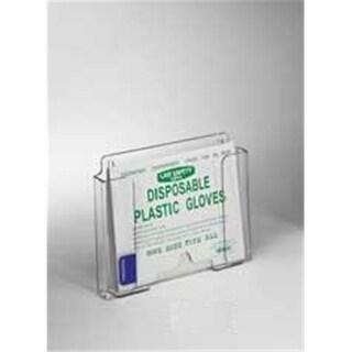 RackEm Racks 5161 Small Poly Glove Dispenser - Clear Plastic