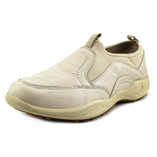 Propet Wash & Wear Pro Slip-on Round Toe Leather Sneakers