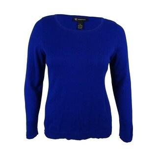 Inc International Concepts Women's Scoop Neck Sweater