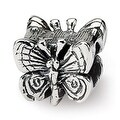 Sterling Silver Reflections Kids Butterfly Bead (4mm Diameter Hole) - Thumbnail 0