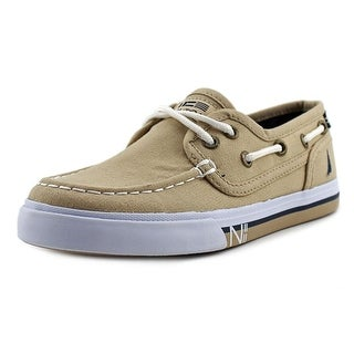 Nautica Spinnaker Youth Youth Round Toe Canvas Tan Loafer