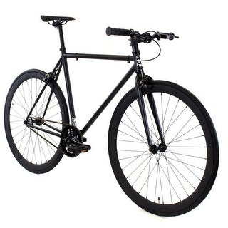 Fixed Gear - GOLDEN CYCLES Fixed Gear Bike Steel Frame Fixie with Deep V Rims- VADER